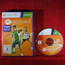 Active 2 Personal Trainer-Microsoft Xbox 360 ~ PAL ~ juego solamente! requiere Kinect!