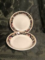"Set of 2 Majesticware  8"" Diameter Bowls by Sakura 1995 Inglewood"