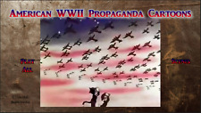 23 American WWII Propaganda Cartoons on DVD Looney Tunes Terrytoons, Some banned
