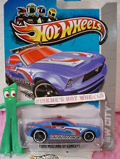 L 2013 Hot Wheels TREASURE HUNT Police FORD MUSTANG GT CONCEPT #14∞Blue∞Secret