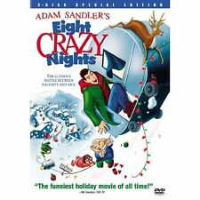 DVD Adam Sandlers Eight Crazy Nights ( 2003, 2-Disc Set, Special Edition) NEW