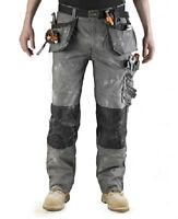 SCRUFFS NEW PRO WORK TROUSERS 2012 GREY WAIST 30-40 LEG 31/33 HEAVY DUTY