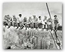 CITYSCAPE ART PRINT Lunch on a Skyscraper 1932 Charles C Ebbets 16x20
