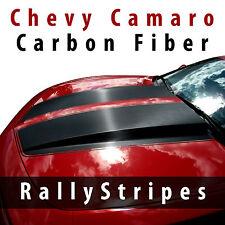 Chevy Camaro CARBON FIBER Racing Stripes 2010 2011 2012 2013 decal kit