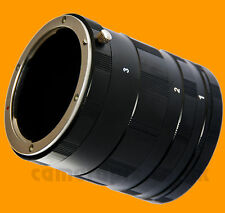 Macro Extension Tube Ring Set for Sony Alpha A AF Minolta MA mount camera