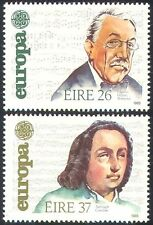 Ireland 1985 Europa/Composers/Music/Stanford/Carolan/Musical Score 2v set n41291