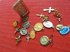 Lot Of Various Religious Pins / Brooches / Frame Other Pins ~ Nice Group
