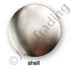 200 of Metal Front Shell Supplies for 58mm Round Button Maker Badge Maker