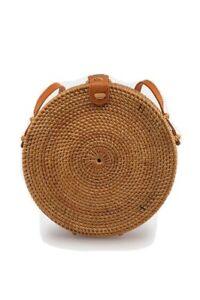 NWT Ellen & James Round Basket Bag