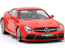 MOTORMAX 79161 1:18 MERCEDES BENZ SL65 AMG BLACK SERIES DIECAST MODEL CAR RED