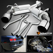 For 2010-2015 Chevy Camaro 3.6L V6 Stainless Dual Muffler Catback Exhaust System