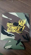Primos Donkey Butter Beer Can Coozie Koozie Koozy Camouflage Camo
