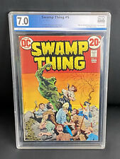 Swamp Thing #5 PGX 7.0 (DC 1973) Bronze Age 20 Cent Cover Like CGC CBCS