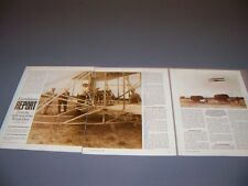 VINTAGE..WRIGHT FLYER HISTORY...HISTORY/PHOTOS/DETAILS..RARE! (838M)