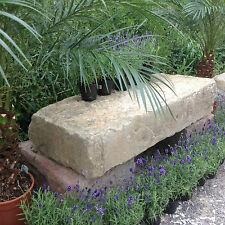 Antike Gartenbank Kräuter Tisch Pflanztisch Natursteine Sitzbank Mauer Steinbank