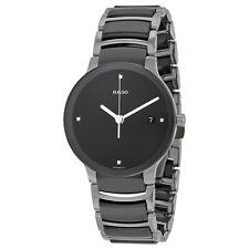 Rado Centrix Black Ceramic Mens Watch R30934712