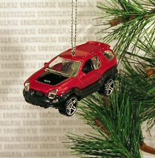 '00 ISUZU VEHICROSS 2000 RED BLACK SUV CHRISTMAS ORNAMENT XMAS