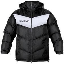 Giubbotto Podio Givova Giacca Giubbino Uomo giaccone Jacket Sport Allenamento Nero / Bianco L