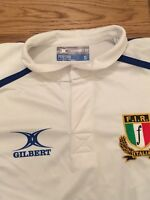 ITALIA ITALY MAGLIA SHIRT 2013 Rugby Sevens Worn MATCH ISSUED Game Used Parisse