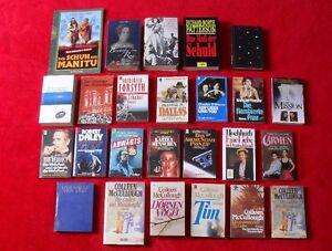 25 Bücher Sammlung Büchersammlung Roman Film Belletristik Konvolut Buch Romane