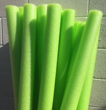 Lot 8x Green Noodle Swimming Pool Noodle therapy water floating foam craft