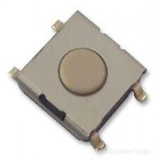 5 X SWITCH, FLAT, SPST-NO, 0.05A, 24VDC, SMD MPN: B3FS-1002 OMRON