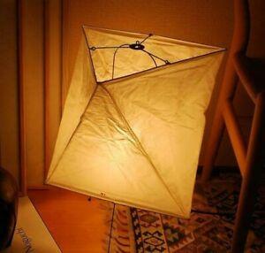 """AKARI w/ ISAMU NOGUCHI Light Lamp Shade Washi """"Stand Light YA2 FULL SET"""""""