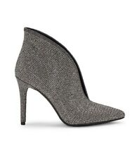 Jessica Simpson Lasnia Slip On Ankle boots, Pewter, Women's 7.5 US New