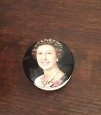 Queen Elizabeth 1977 Silver Jubilee Pill Box Crown Staffordshire Bone China