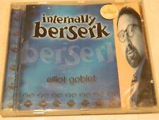 Elliot Goblet Internally Berserk CD [Australian comedy]