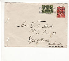 NETHERLANDS : COMMERCIAL COVER TO AUSTRALIA  1945 ?? uncommon    G