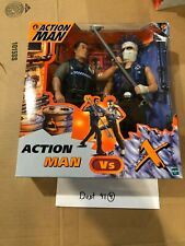 Action Man : Rare Action Man Vs X : Hasbro 1998. 2 Action Figures