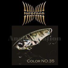 Lurefans Rattlesnake R40-35 Metal Vibration Sinking Fishing Lure 40mm 7.5g