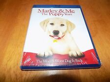 MARLEY AND ME THE PUPPY YEARS Children's Movie Classic BLU-RAY DISC SEALED NEW