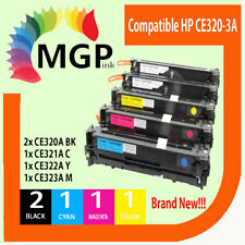 5x CE320A -CE323A toner cartridge for HP Laser CM1415 CM1415fn CP1525N CP1525nw