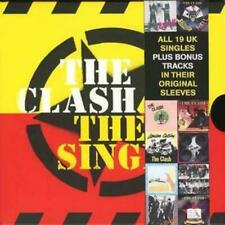 The Clash : The Singles CD Box Set 19 discs (2006) ***NEW*** Fast and FREE P & P