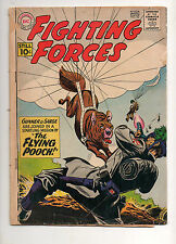 Our Fighting Forces #62 Parachute - ing Pooch Classic Cover 1961 G/VG 3.0 NICE!