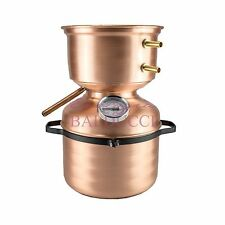 Alambicco distillatore grappa 5L a fungo con termometro