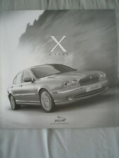 Jaguar X Type introduction brochure 2001 German text
