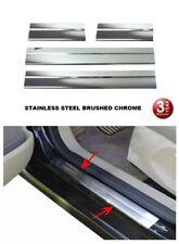 Para Nissan Qashqai + 2 y J10 2006-2013 Cromo Puerta Umbral Placa Protector