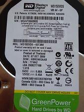 Western Digital WD15EVDS-63T3B0 | HBRCNV2AAB | 07 OCT 2009 | 1,5TB disco rigido