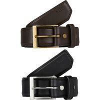 """5.11 Unisex 1 1/2"""" Casual Leather Belt w/Nickel/Brass Finished Buckle 59501"""