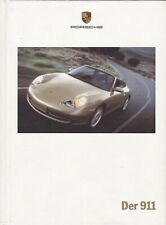 Der 911 1999 Porsche sales brochure