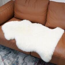60x90cm Australian Genuine Sheepskin Rug White Bedroom Soft Cushion Carpet Mat