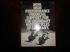 BMW OEM Leasing Program 1984 GE General Electric Credit