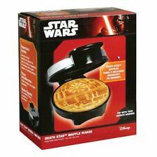 Star Wars Death Star Waffle Iron Maker Machine Kitchen Breakfast Disney 900W NEW