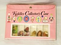 Vintage Kiddles Collectors Case Lot With Dolls perfume and locket Mattel 1960's