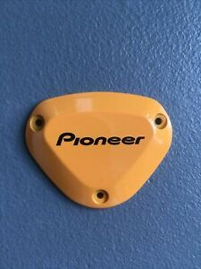 PIONEER POWER METER RIGHT SENSOR COVER YELLOW dura ace ultegra 105