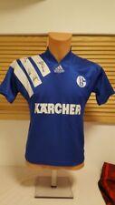 FC Schalke 04 Trikot 1994-96 adidas Kärcher XS Autogramme Maglia Shirt Jersey