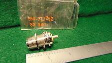 (1) Amphenol 83-907 UHF SO-239 FEMALE Receptical NOS
